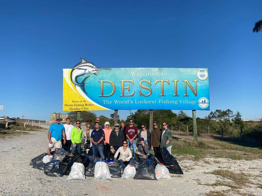 Destin Beach Cleanup